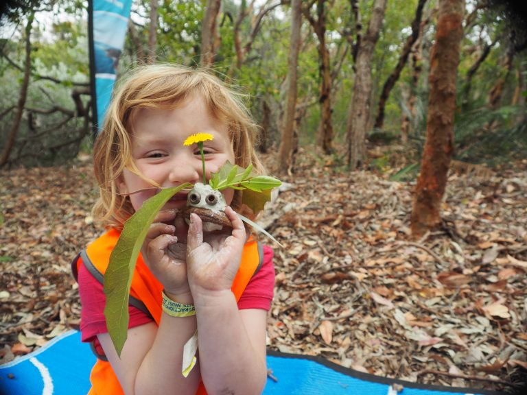 Tomaree Coastal Adventures Nature Play - Craft.